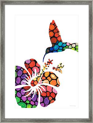 Perfect Harmony - Nature's Sharing Art Framed Print