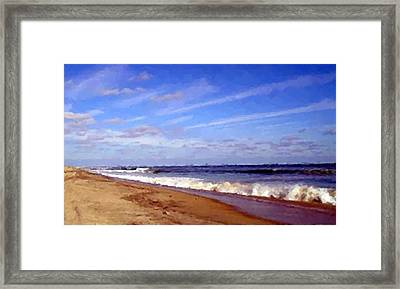 Perfect Hatteras  Framed Print