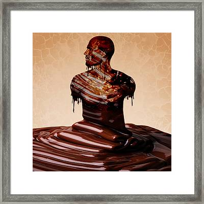 Perfect Kind Of Man Framed Print by Marian Voicu