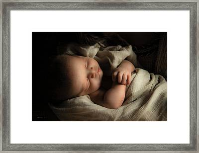 Perfect Lamb Framed Print