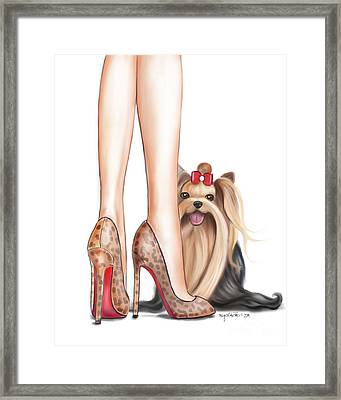 Perfect Match Framed Print by Catia Cho