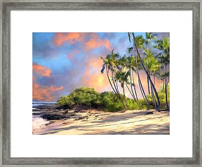 Perfect Moment Framed Print