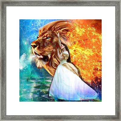 Perfect Peace In Perfect Love Framed Print