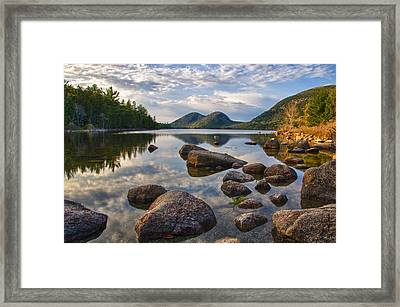 Perfect Pond Framed Print