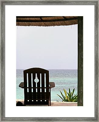 Perfect Resting Spot Framed Print by Kimberly Perry