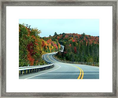 Perfect Ride Framed Print