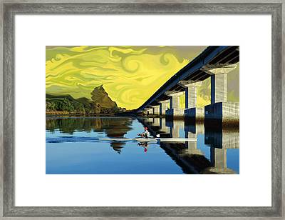 Perfect Rows Framed Print