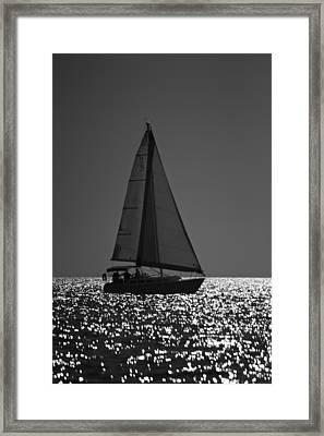 Perfect Sailing Framed Print