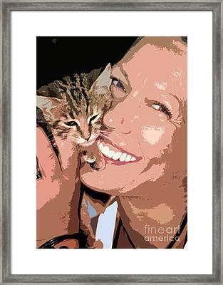 Perfect Smile Framed Print