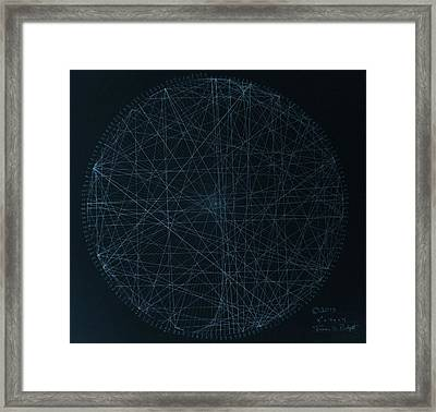 Perfect Square Framed Print