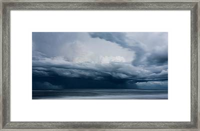 Perfect Storm Framed Print by Matt Dobson