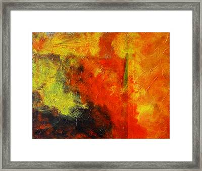 Perfect Storm Framed Print by Nancy Merkle