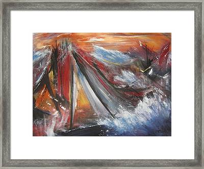 Perfect Storm Framed Print