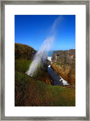 Perfect Timing Framed Print by FireFlux Studios