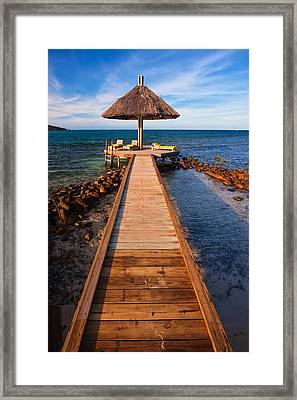 Perfect Vacation Framed Print