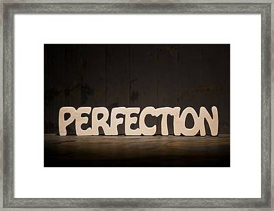 Perfection Framed Print by Donald  Erickson