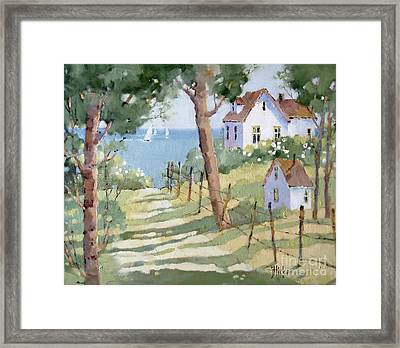 Perfectly Peaceful Nantucket Framed Print