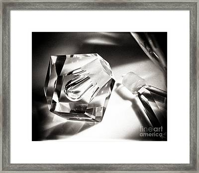 Art Deco Perfume Bottle Framed Print