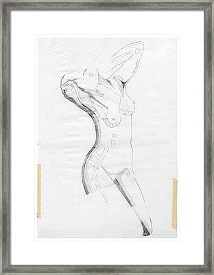 Perfume Of Venus - Homage Rodin Framed Print