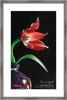 Perfumed Brilliance Framed Print by Arlene Steinberg
