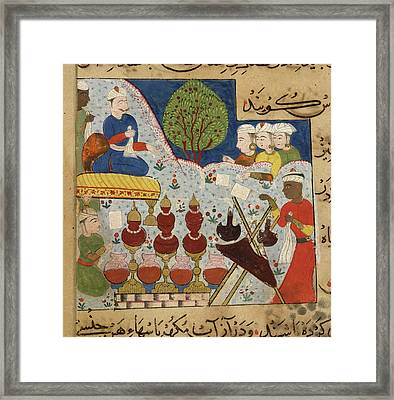 Perfumes And Flowers Framed Print by British Library