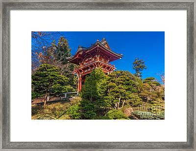 Pergoda 2 Framed Print