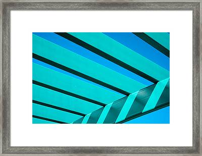 Pergola Framed Print by Don Durante Jr