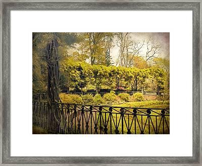 Pergola Garden Framed Print by Jessica Jenney