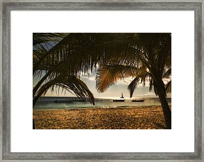 Perhaps A Slower Pace Of Life ... Framed Print