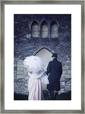 Period Couple Framed Print