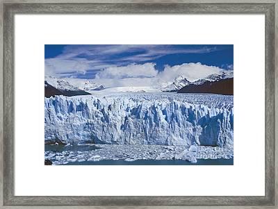 Perito Moreno Glacier Argentina Framed Print by Rudi Prott