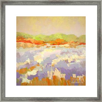 Periwinkle  Framed Print by Virginia Dauth