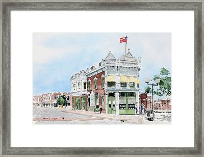 Perkins Building Framed Print