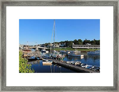 Perkins Cove Ogunquit Maine 2 Framed Print