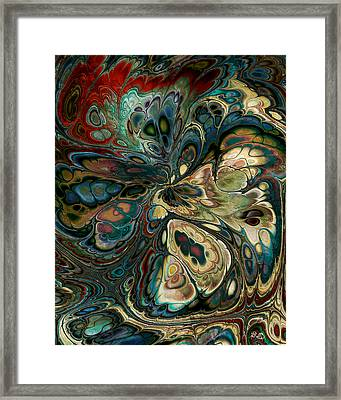 Perlin Party Framed Print