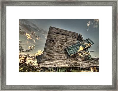 Perot Museum Framed Print