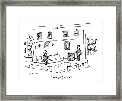 Perot, Party Of One Framed Print