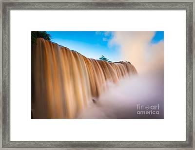 Perpetual Flow Framed Print