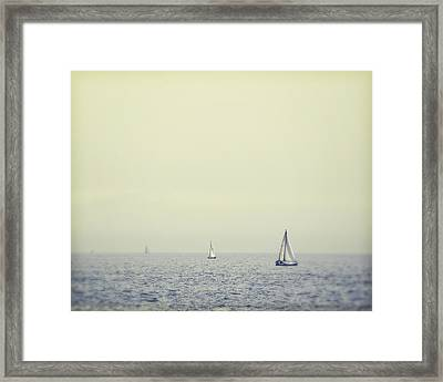 Perpetual - Santa Cruz, California Framed Print