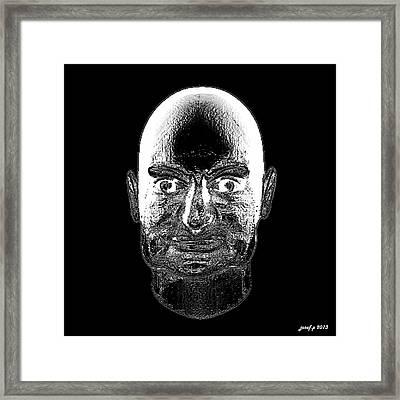 Perphenazine Two Months Inside Framed Print by Sir Josef - Social Critic -  Maha Art