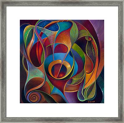 Perplexity Framed Print by Claudia Goodell