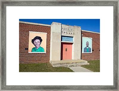 Perrin Thoms 2 Framed Print by Joseph C Hinson Photography