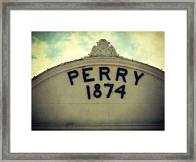 Perry 1874 Framed Print