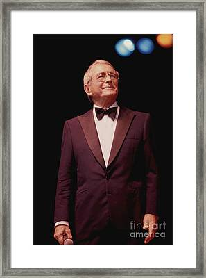 Perry Como Framed Print