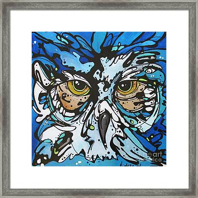 Framed Print featuring the painting Perry by Nicole Gaitan