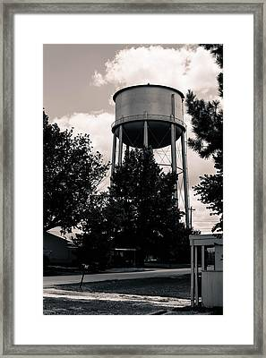 Perry Water Tower  Framed Print