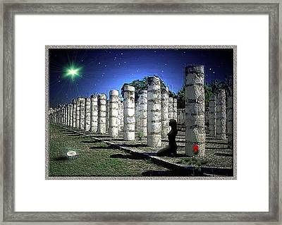 Persephone Framed Print by Harald Dastis