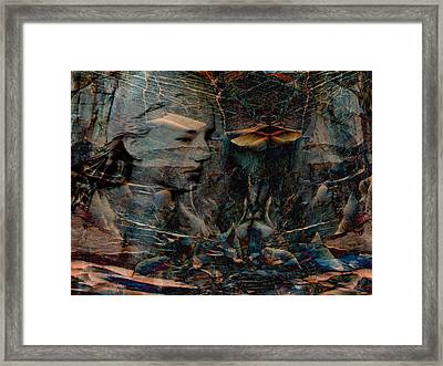 Persephone Waits For Spring Framed Print by Stephanie Grant