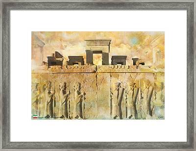 Persepolis  Framed Print by Catf