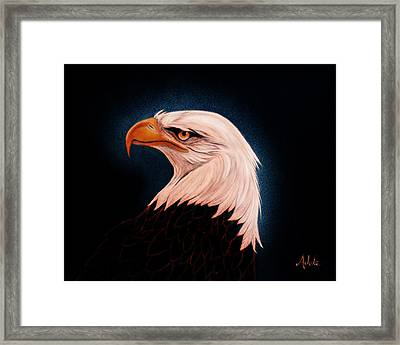 Perserverance II Framed Print by Adele Moscaritolo